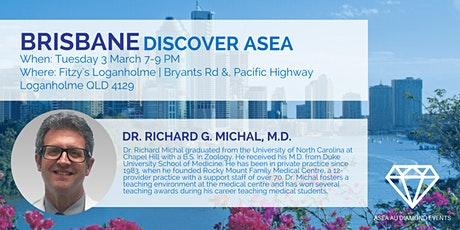 Brisbane Discover ASEA with Dr Rich Michal  tickets
