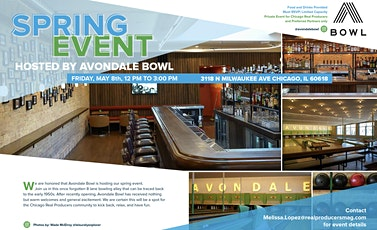 Chicago RP Spring 2020 Event @ Avondale Bowl tickets