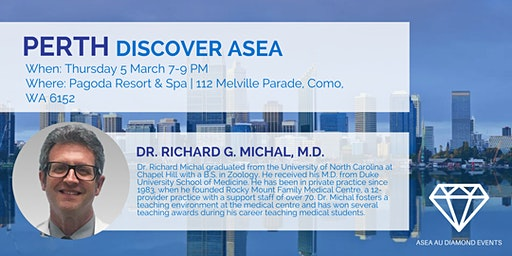 Perth Discover ASEA with Dr Rich Michal