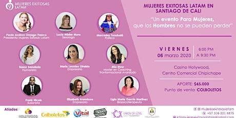 Mujeres Exitosas Latam en Santiago de Cali entradas