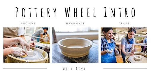 Pottery Wheel Intro Workshop