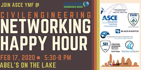ATX Civil Engineering Joint Networking Happy Hour 2020 tickets