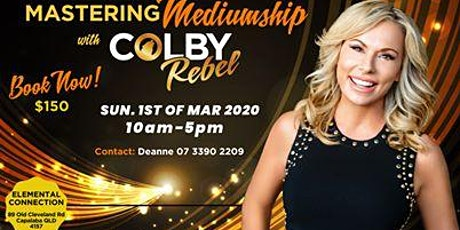 Mastering Mediumship with Colby Rebel tickets
