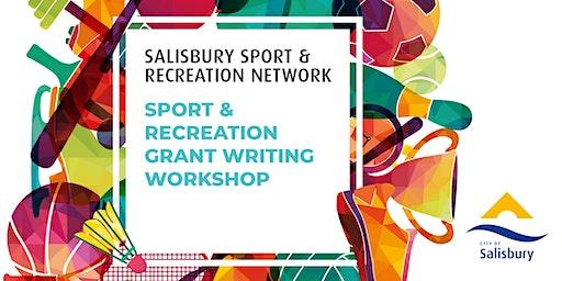 Sport & Recreation Grant Writing Workshop
