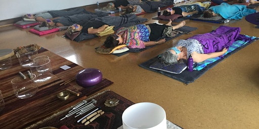 Wed 7pm Sacred Sounds Meditation $25