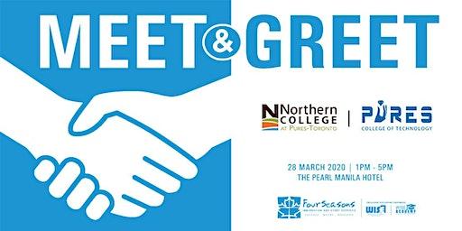 Meet & Greet: Northern College at Pures Toronto (Manila)