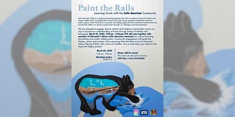 'Paint the Rails' - Learning Circle with the Latin American Community billets