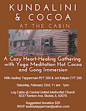 Kundalini and Cocoa at the Cabin tickets