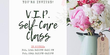 V.I.P. Self-Care Class tickets