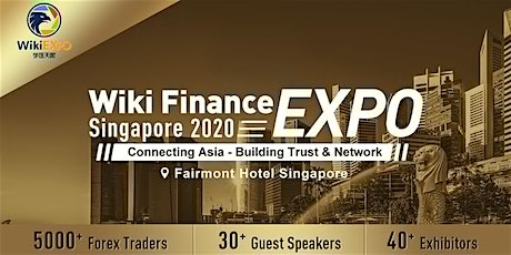Wiki Finance EXPO Singapore 2021 tickets