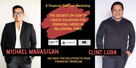 The Secrets on How to Create Solutions for Financial Needs in Millennial Times tickets