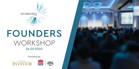 Founders Workshop powered by Wholesale Investor and NSW Government tickets