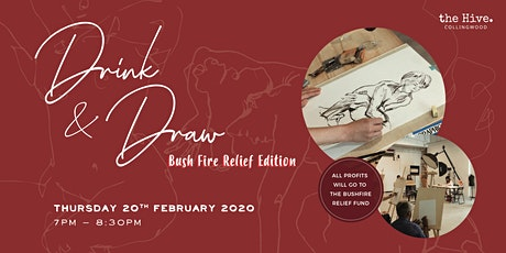 Drink & Draw: Bushfire Relief Edition tickets