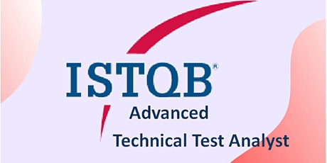 ISTQB Advanced – Technical Test Analyst 3 Days Virtual Live Training in Dublin City tickets