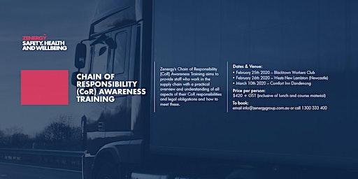 Chain of Responsibly (CoR) Awareness Training - Dandenong