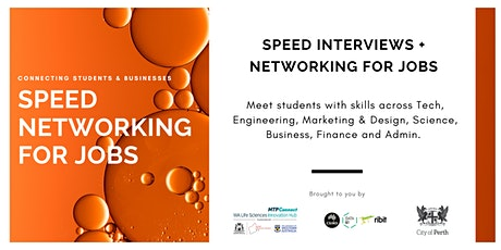 Life Sciences Speed Networking for Jobs - Business Registration tickets