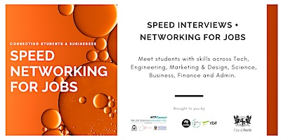 Life Sciences Speed Networking for Jobs - Business Registration