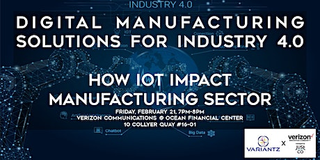 Digital Manufacturing Solutions for Industry 4.0 tickets