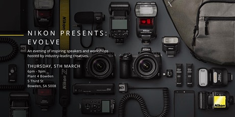 Nikon Presents: Evolve, Adelaide tickets