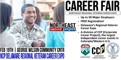 Delaware Regional Veteran Career Expo - February 19th tickets