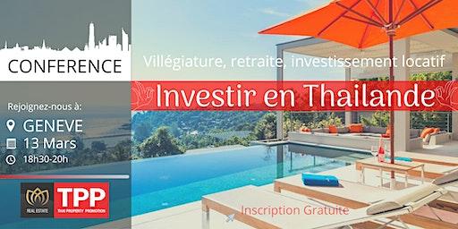 GENEVE - Conférence: Immobilier et Vie en Thaïlande