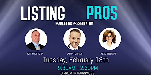 Listing Pro: Marketing Presentation