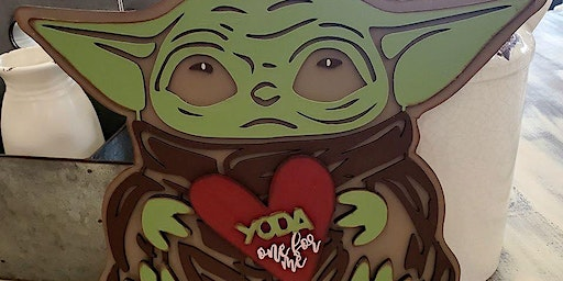 Yoda one for me sign