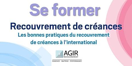 Se former - Optimiser le recouvrement de créance en France et en Belgique billets