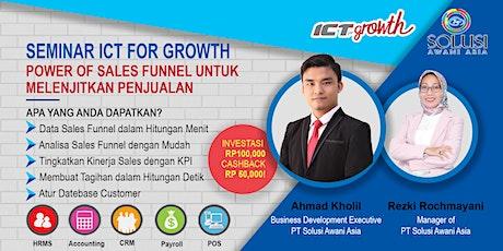 {PAID EVENT} Seminar CRM: Power of Sales Funnel untuk Melejitkan Penjualan tickets