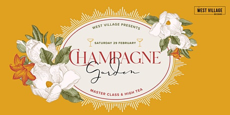 Champagne Garden at West Village tickets