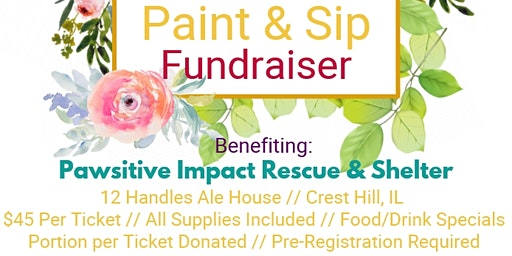 Paint & Sip Benefiting Pawsitive Impact Rescue & Shelter