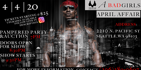 Triple Chocolate Entertainment Presents: A Bad Girl's April Affair tickets