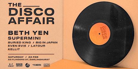 The Disco Affair ft. Beth Yen & Supermini tickets
