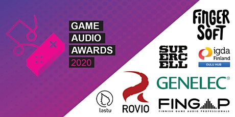 Game Audio Awards 2020 tickets