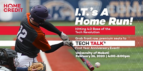 Tech Talk:  I.T.'s A Home Run tickets