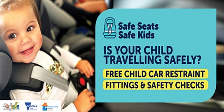 FREE CHILD CAR RESTRAINT FITTINGS AND SAFETY CHECKS IN SORRENTO! tickets