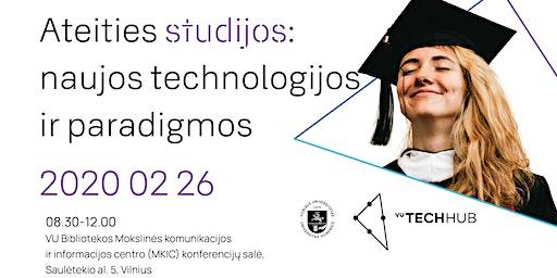 Ateities studijos: naujos technologijos ir paradigmos