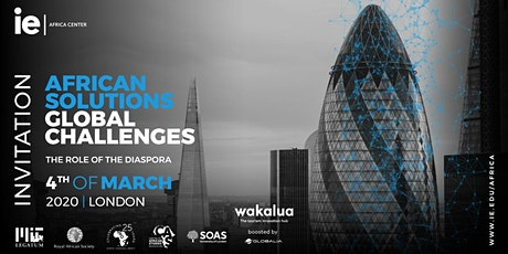 African Solutions, Global Challenges: The Role of the Diaspora tickets