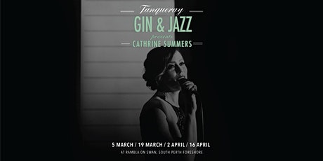 Cathrine Summers presents Tanqueray Gin & Jazz - Vintage Hollywood Jazz tickets