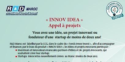 """Appel à projets """"INNOV IDEA"""""""