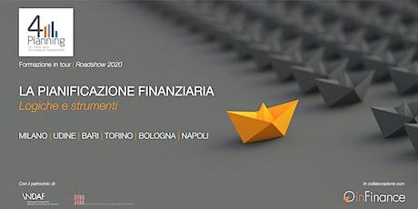 Workshop   La Pianificazione Finanziaria - Roadshow 4Planning 2020 - Udine biglietti