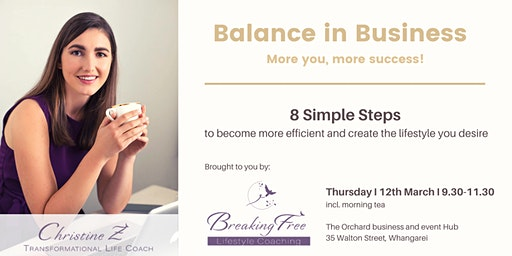 Balance in Business - More you, more success!