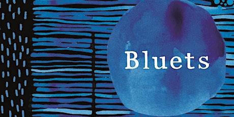 Texta book club: Bluets tickets
