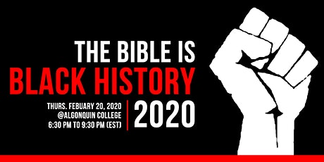 The Bible Is Black History tickets
