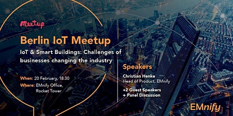 IoT & Smart Buildings: Challenges of businesses changing the industry tickets