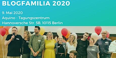 Blogfamilia 2020 - Jahreskonferenz #Blogfamilia Tickets