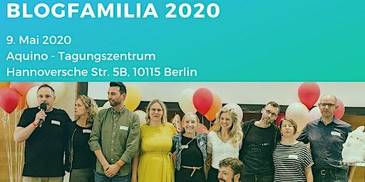 Blogfamilia 2020 - Jahreskonferenz #Blogfamilia