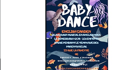 BABY DANCE -GGP group. English Garden billets