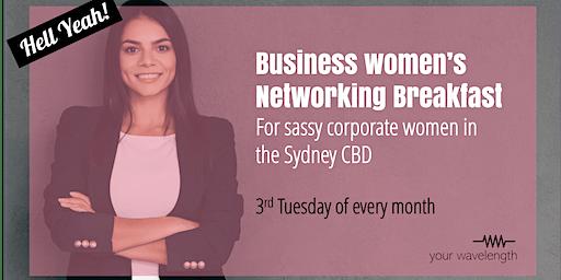 Sydney Business Women's Networking - Motivator Breakfast