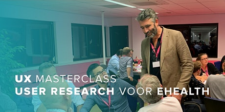 Masterclass: UX Research & Design voor e-Health en zorginnovatie tickets